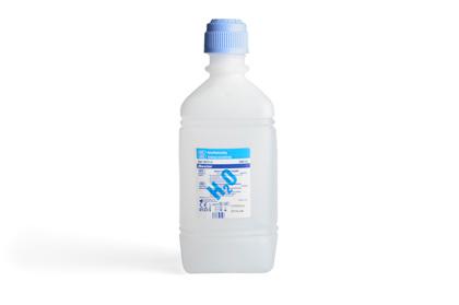 Steriel water van Baxter (1 liter) (per 6 stuks verpakt)