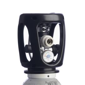 Combi cilinder zuurstof M10