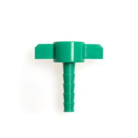 Connector met schroefaansluiting van Intersurgical. Art.nr 1504001 (per 2 stuks verpakt)